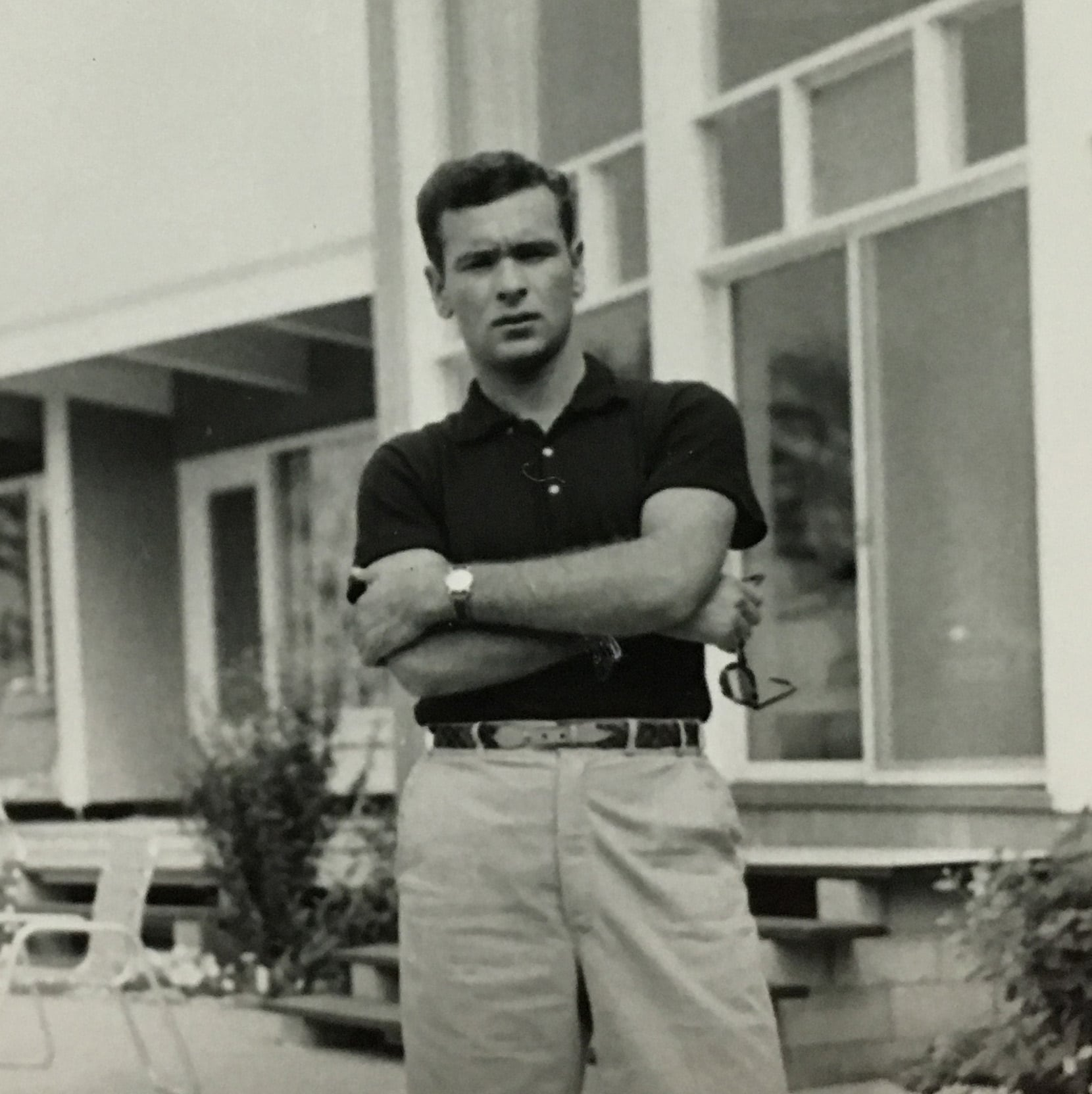 Richard in Palm Beach before his career, 1954