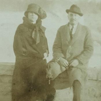 Richard's parents, Irving and Sarah, 1932