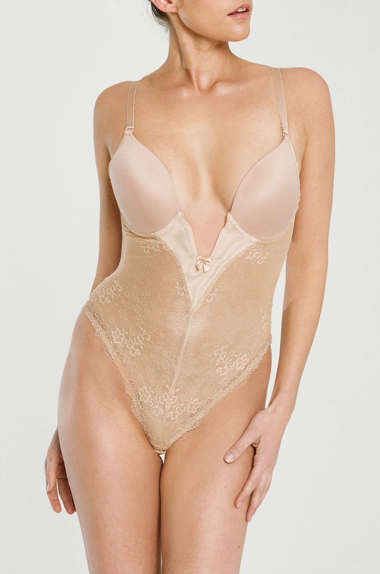 17f52be6e0 Plunge Bodysuit - Push-Up Bra